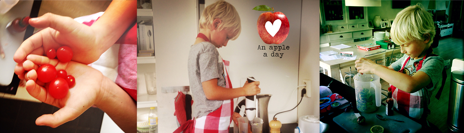 An apple a day Kids Kookworkshop detoxcoach